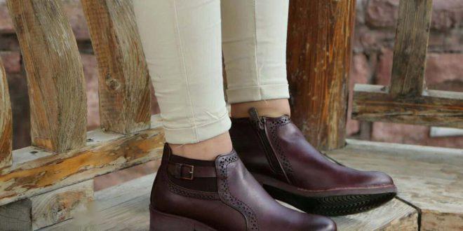 مرکز خرید عمده اینترنتی کفش های چرم زنانه