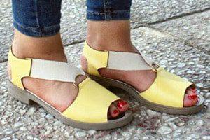 تولید کفش صندل چرم در ایران